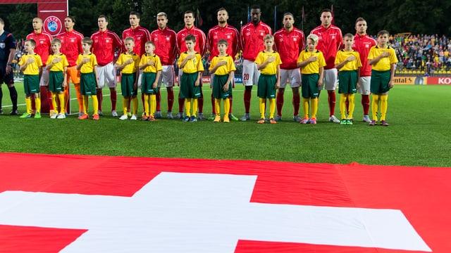 Nationaltrainer Vladimir Petkovic vertraut gegen Slowenien und England auf die bewährten Spieler.