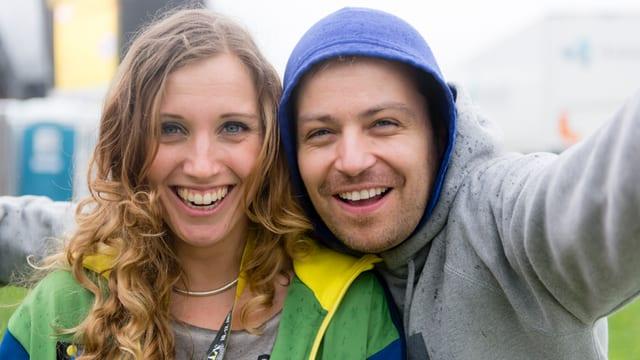 Florence Fischer und Sascha Rossier.