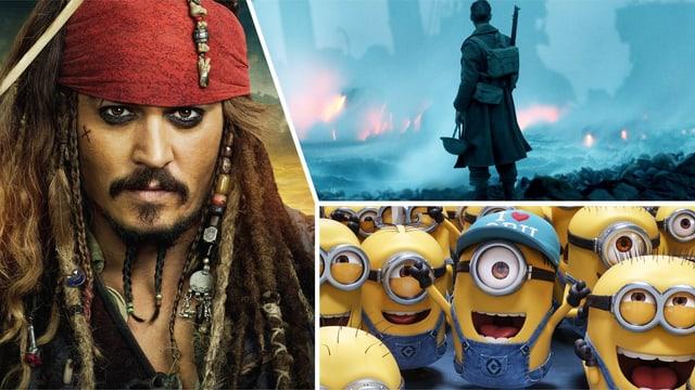 Jack Sparrow/Dunkirk/Minions