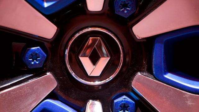 Rad mit Renault-Logo