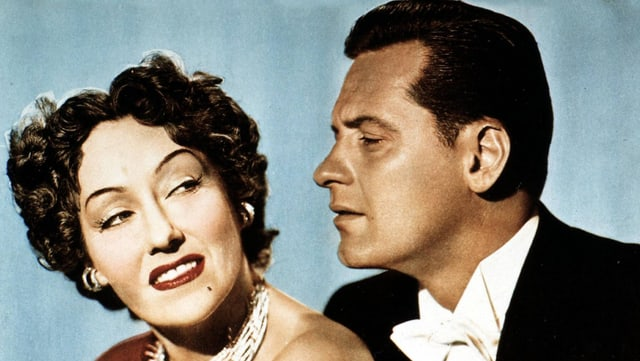 Norma Desmond und Joe Gillis