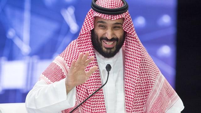 Portrait Mohammed bin Salman.