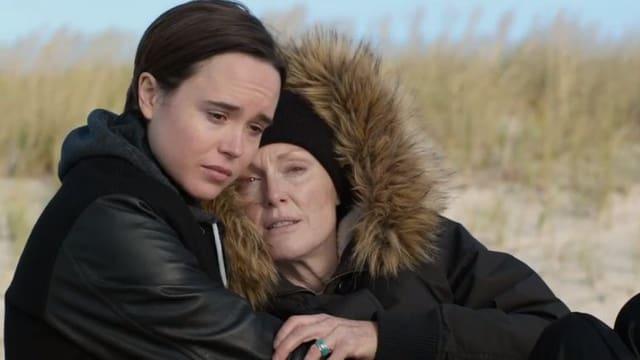Ellen Page und Julianne Moore im Film Freeheld