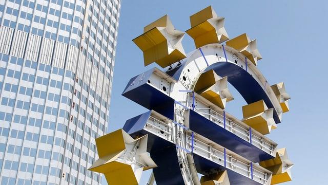 Sedia da la Banca centrala europeica a Frankfurt.