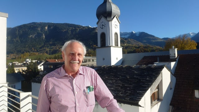 Toni Cadruvi, il president da la Plaiv da Ladir.