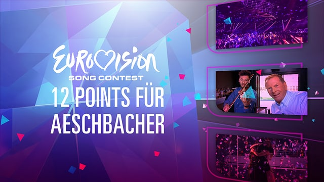 Video «Aeschbacher-Spezial zum ESC - «12 Points für Aeschbacher»» abspielen