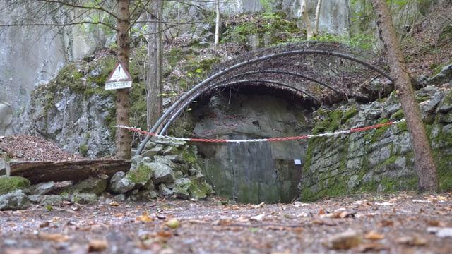 Der Eingang zur Festung