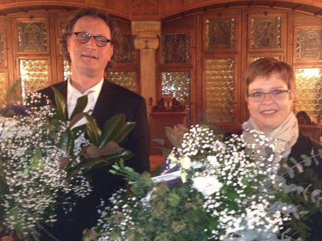 Geri Müller und Ruth Müri