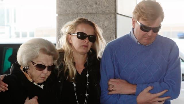 Königin Beatrix, Mabel und Kronprinz Willem