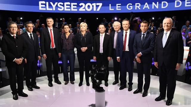 Ils candidats per l'elecziun dal president da la Frantscha
