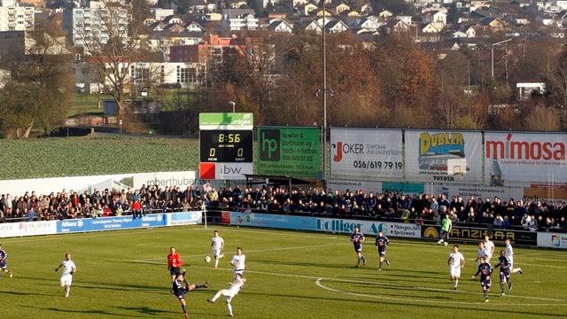 Gibt es nächste Saison noch Challenge League-Fussball auf der Niedermatte in Wohlen?