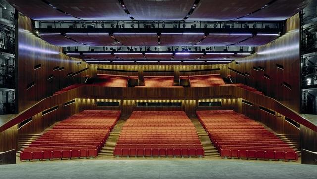 Großer Saal im Festspielhaus Bregenz.