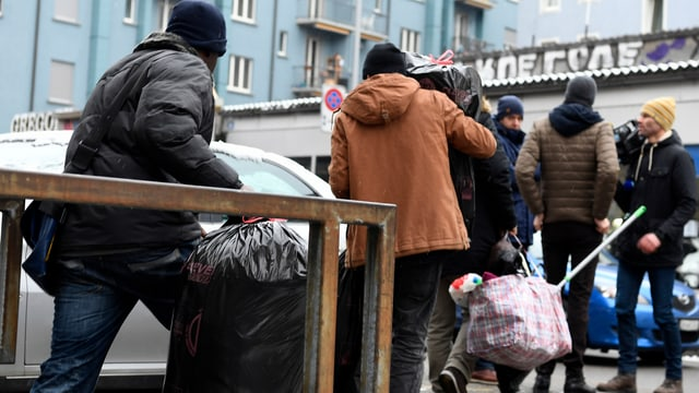 Bewohner der sogenannten «Gammelhäuser» müssen ihre Wohnungen wegen unhaltbarer Zustände räumen.