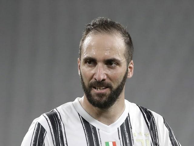 Läuft neu für Inter Miami auf - Gonzalo Higuain.