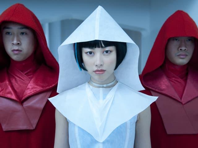 Die chinesische Schauspielerin Zhu Zhu spielt in Cloud Atlas einen «12th Star Clone».