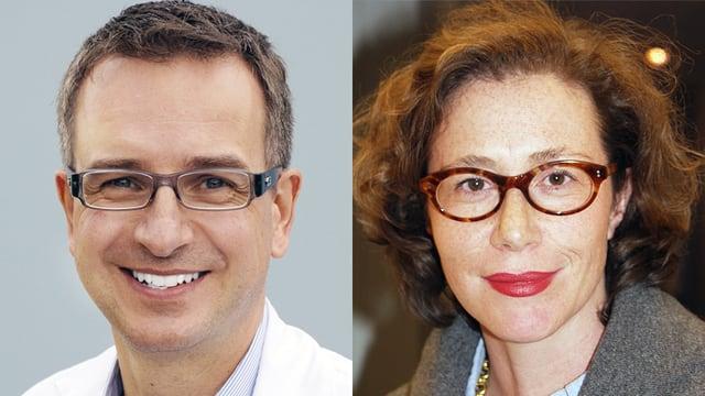 Dr. Niklaus Hauser und Dr. Eliane Sarasin