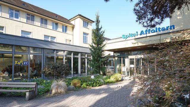 Eingang Spital Affoltern