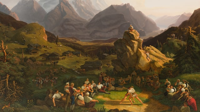 «Und die alten Formen stürzen ein» Kunst um 1800 aus der Sammlung