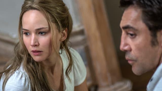 Jennifer Lawrence und Javier Bardem