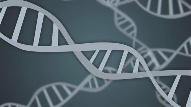 Grafik DNA-Strang.