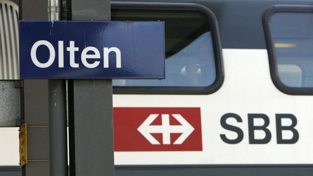 La staziun dad Olten.