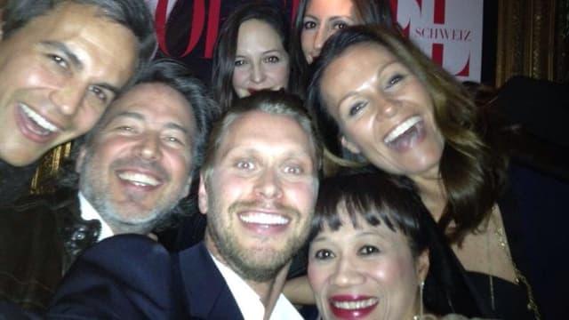 Gruppenfoto von Karina Berger mit Freunden