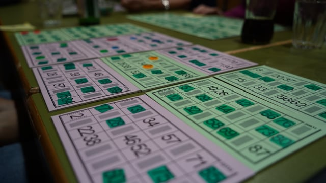 chartas da lotto cun chips