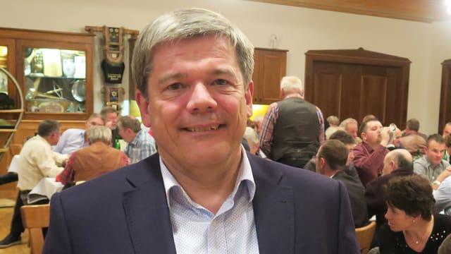 Porträt des Nidwaldner Politikers Daniel Wyler.