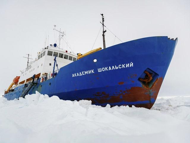 «MV Akademik Shokalskiy» steckt im Eis fest