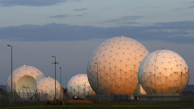 Der Sitz des US-Geheimdienstes