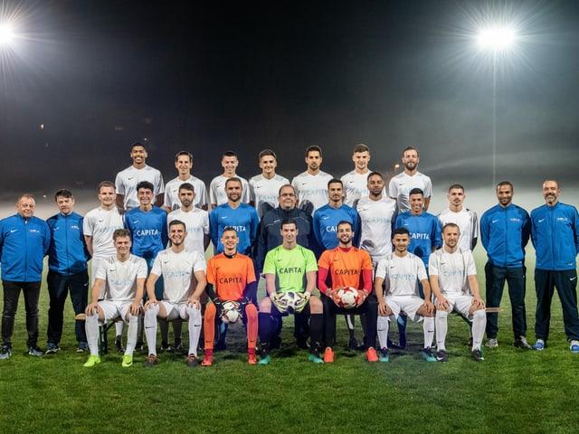Die Spieler der AS Calcio Kreuzlingen.