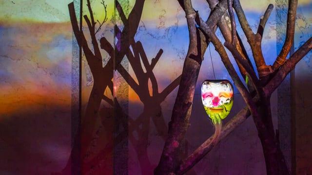 Maske und Larve: die Video-Installation von Pipilotti Rist.