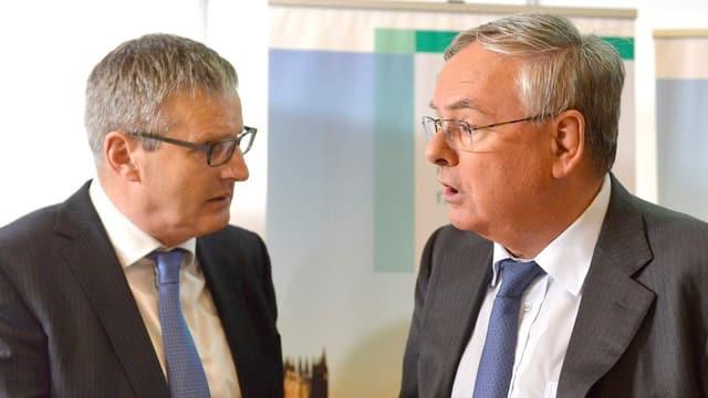 Jean-François Rime (rechts) ersetzt Emanuel Waeber