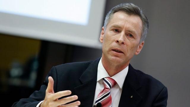 Ulrich Hurni, il schef da La Posta ad interim.