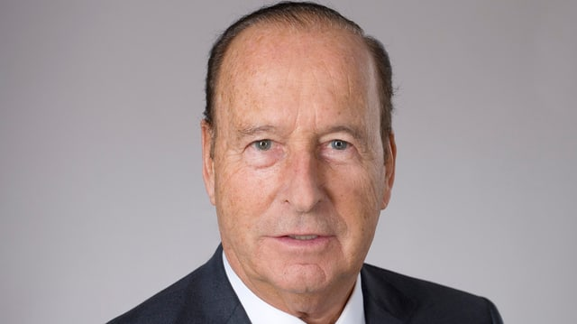 Der verstorbene ehemalige Nationalrat Jean Henri Dunant