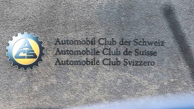 Signet d'automobils svizzer.