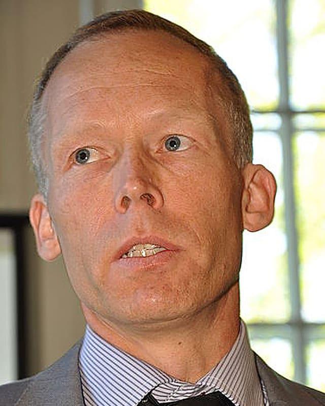 Porträtfoto von Johan Rockström, Leiter des Stockholm Resilience Center.