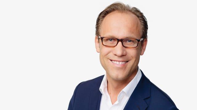 Porträtbild von Radio SRF 1-Moderator Christian Zeugin.
