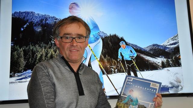 """Markus Schild, l'editur da """"Der Langläufer"""""""