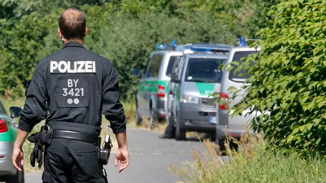 Polizia en acziun suenter l'attatga d'in giuven Afgan a Würzburg