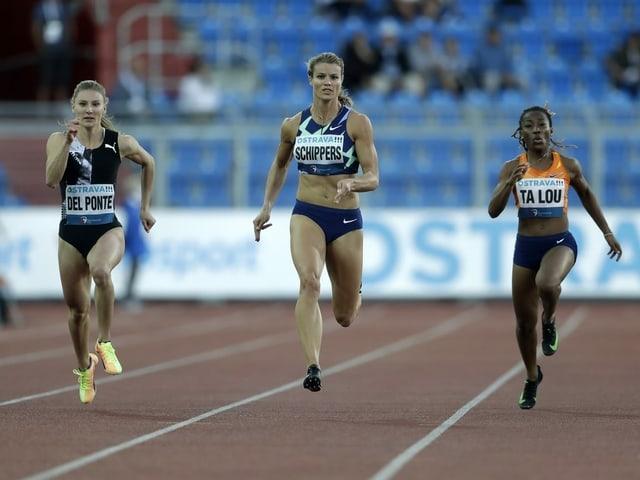 150-m-Rennen in Ostrava.