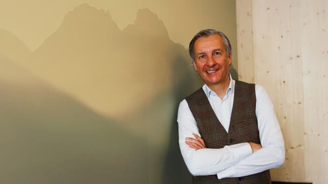 Gerhard Walter, il CEO da Engiadina San Murezzan.