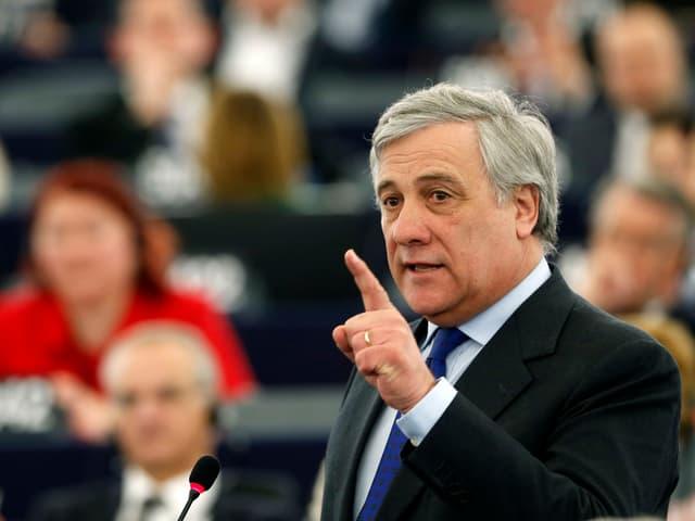 Il nov president dal parlament da l'UE Antonio Tajani.