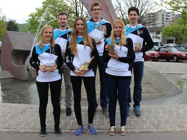 Das Einradhockey-Team «Devils» holt erstmals den Schweizer Meistertitel nach Olten.