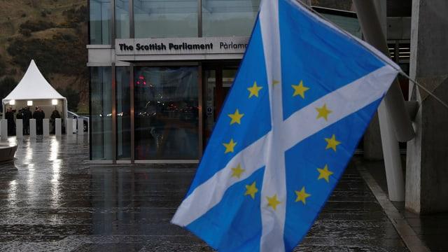 Bandiera da la Scozia.