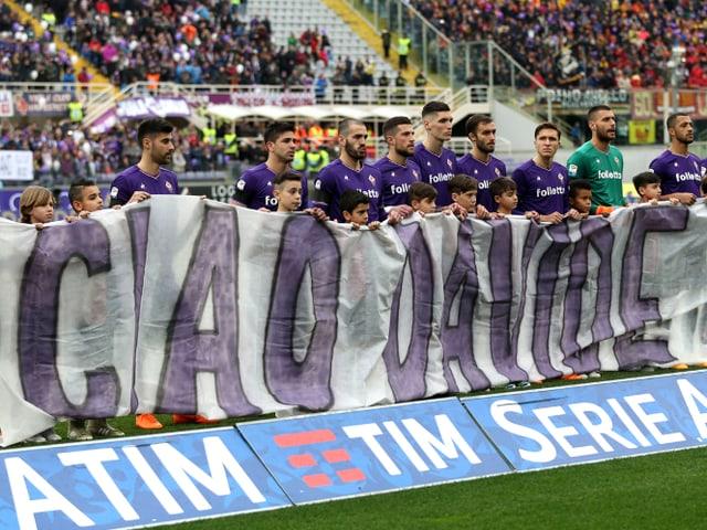 «Ciao Davide»-Plakat.