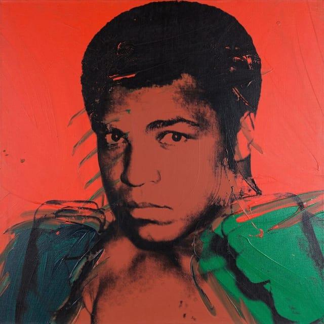 Andy Warhol: «Muhammed Ali by Andy Warhol», 1978.