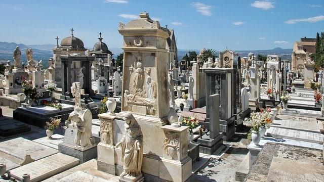 Der monumentale Friedhof von Catania.