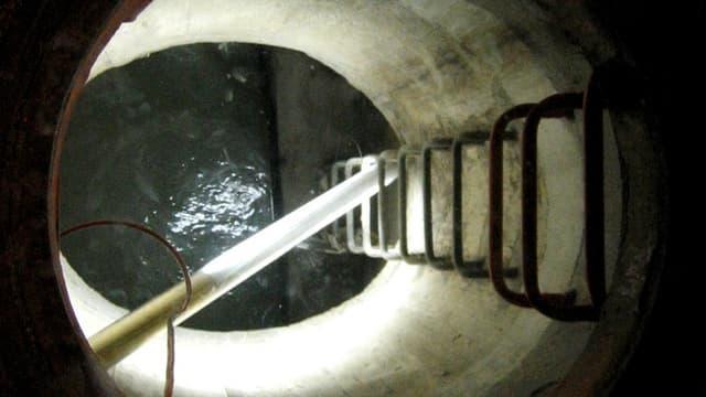 Blick in die Kanalisation