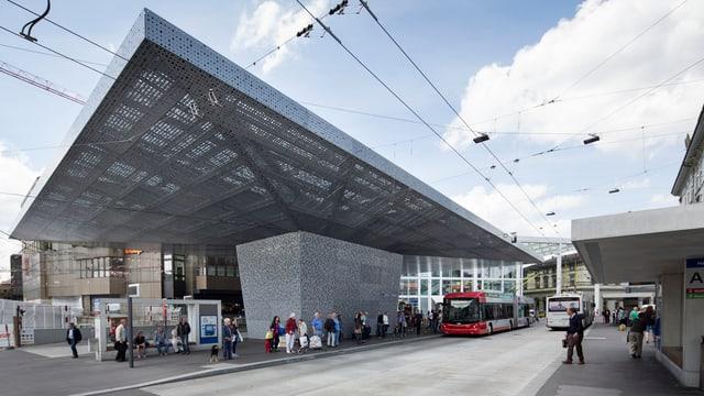 Moderne Busstation